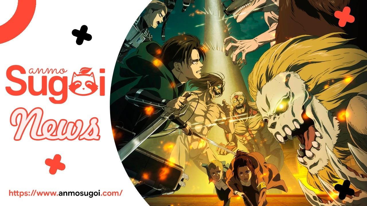 NUEVA TEMPORADA de Danmachi y Goblin Slayer, Japón RESPONDÉ a la crítica de Shingeki no Kyojin y más   SUGOI NEWS Edición #3