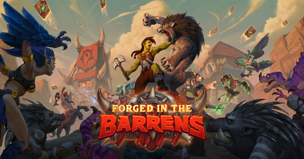 Hearthstone Forged in Barrens
