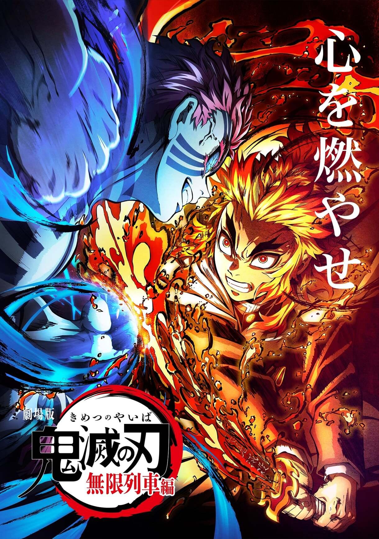 Kimetsu No Yaiba Mugen Train Poster 3