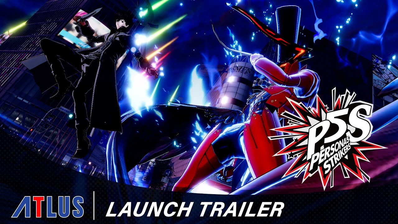 Persona 5 Strickers Launch