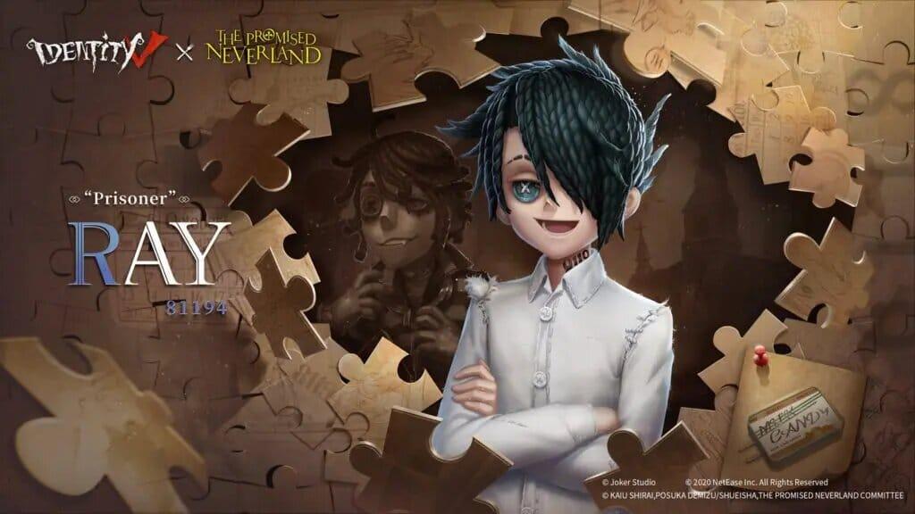 Yakusoku no Neverland anuncia una colaboración con el videojuego Identity V