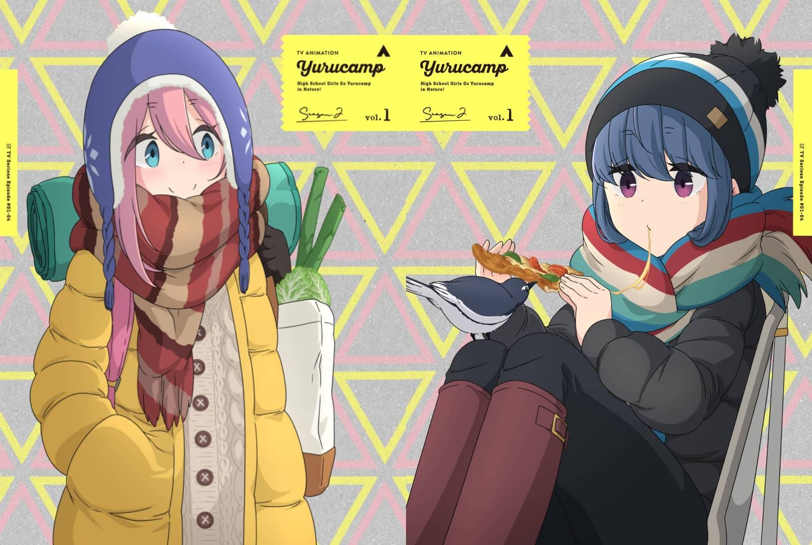 Yuru Camp Season 2 vol 1