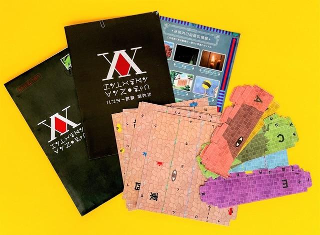 kit del juego HUNTERxHUNTER