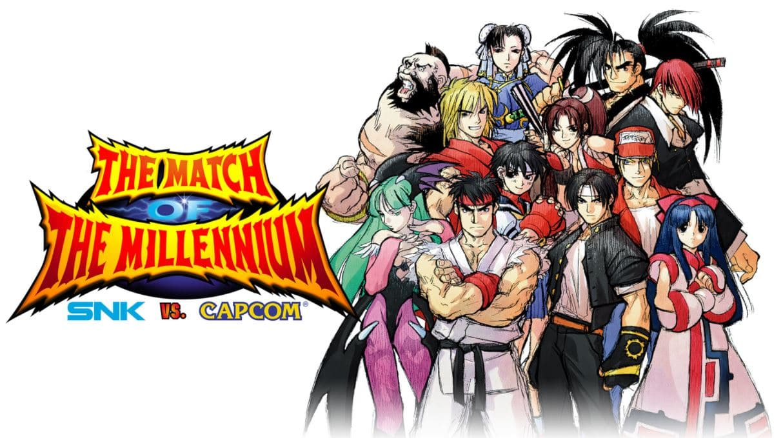 NK VS. CAPCOM: THE MATCH OF THE MILLENNIUM ya está disponible en Nintendo Switch