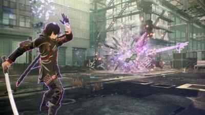 Scarlet Nexus combate