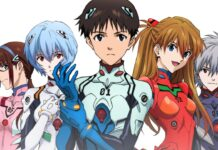 Evangelion x The Cure Maid Cafe Hideaki Anno