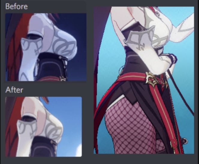"""Genshin Impact reduce el pecho de Rosaria para hacerla """"más apropiada"""""""