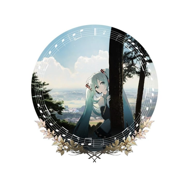 Hatsune Miku vinilo 3