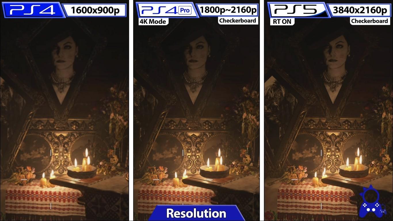 Resident Evil Village - resolution