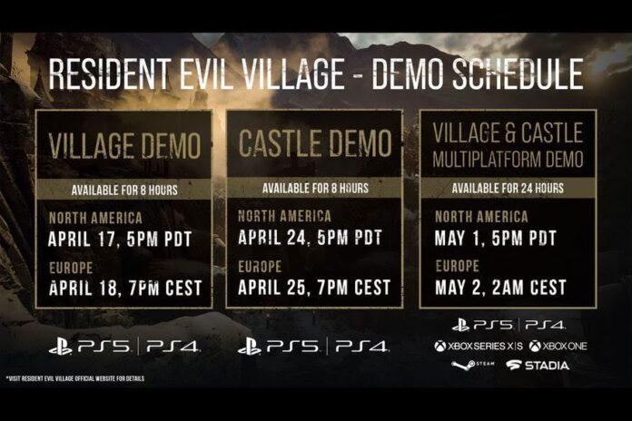 Llegada de la demo de Resident Evil VIII
