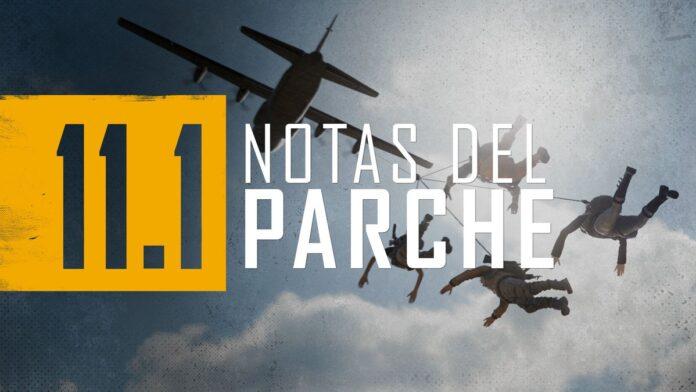 Parche 11.1 PUBG