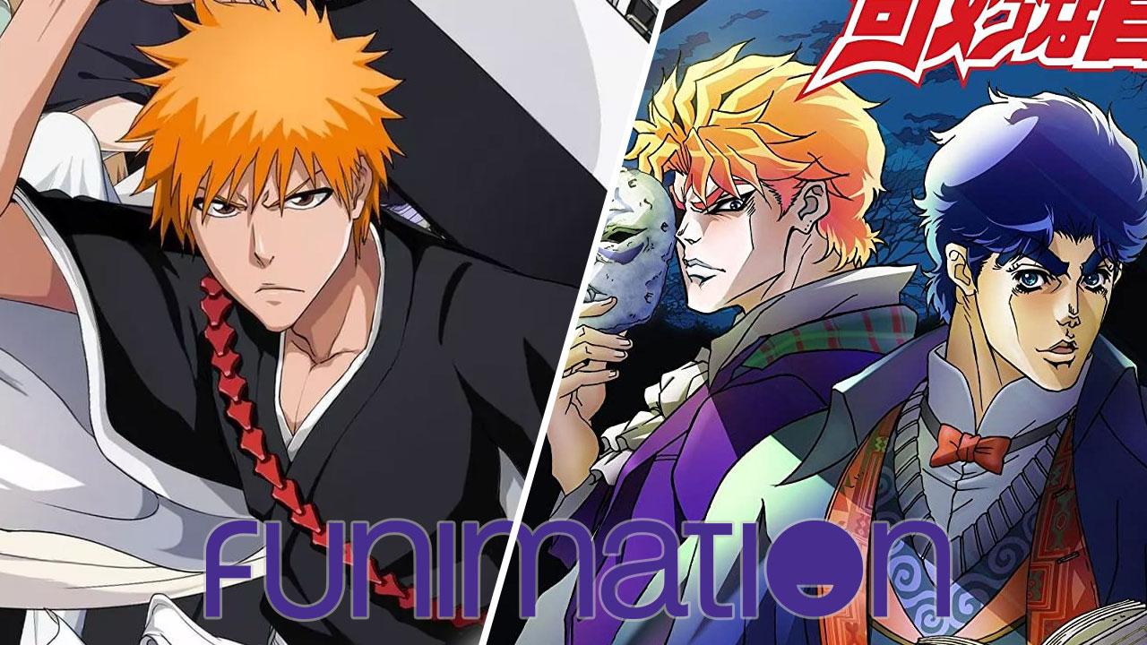 Funimation México Jojo's Bizarre Adventures y Bleach