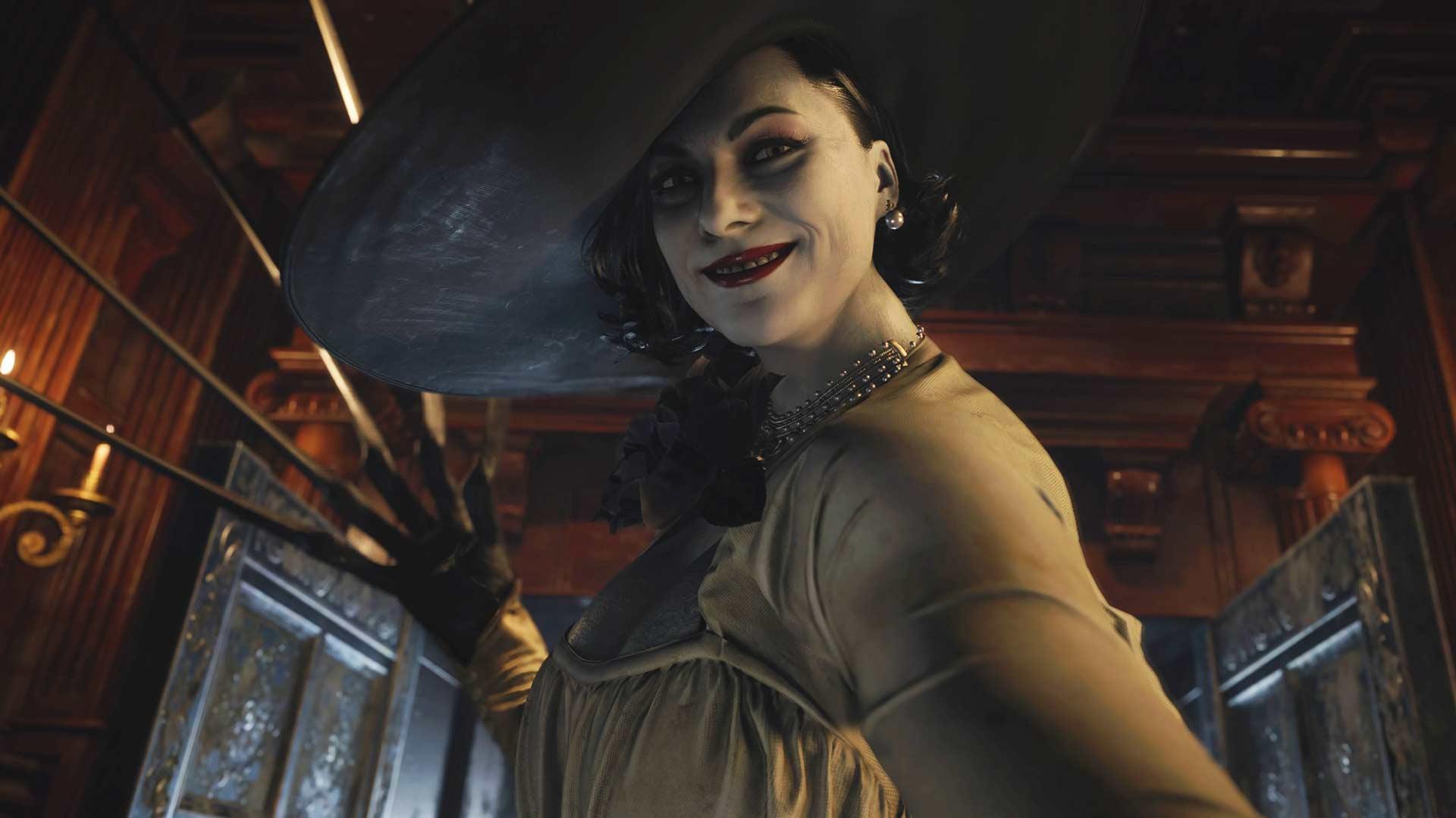 La popular cosplayer Enako reacciona a la demo de Resident Evil Village