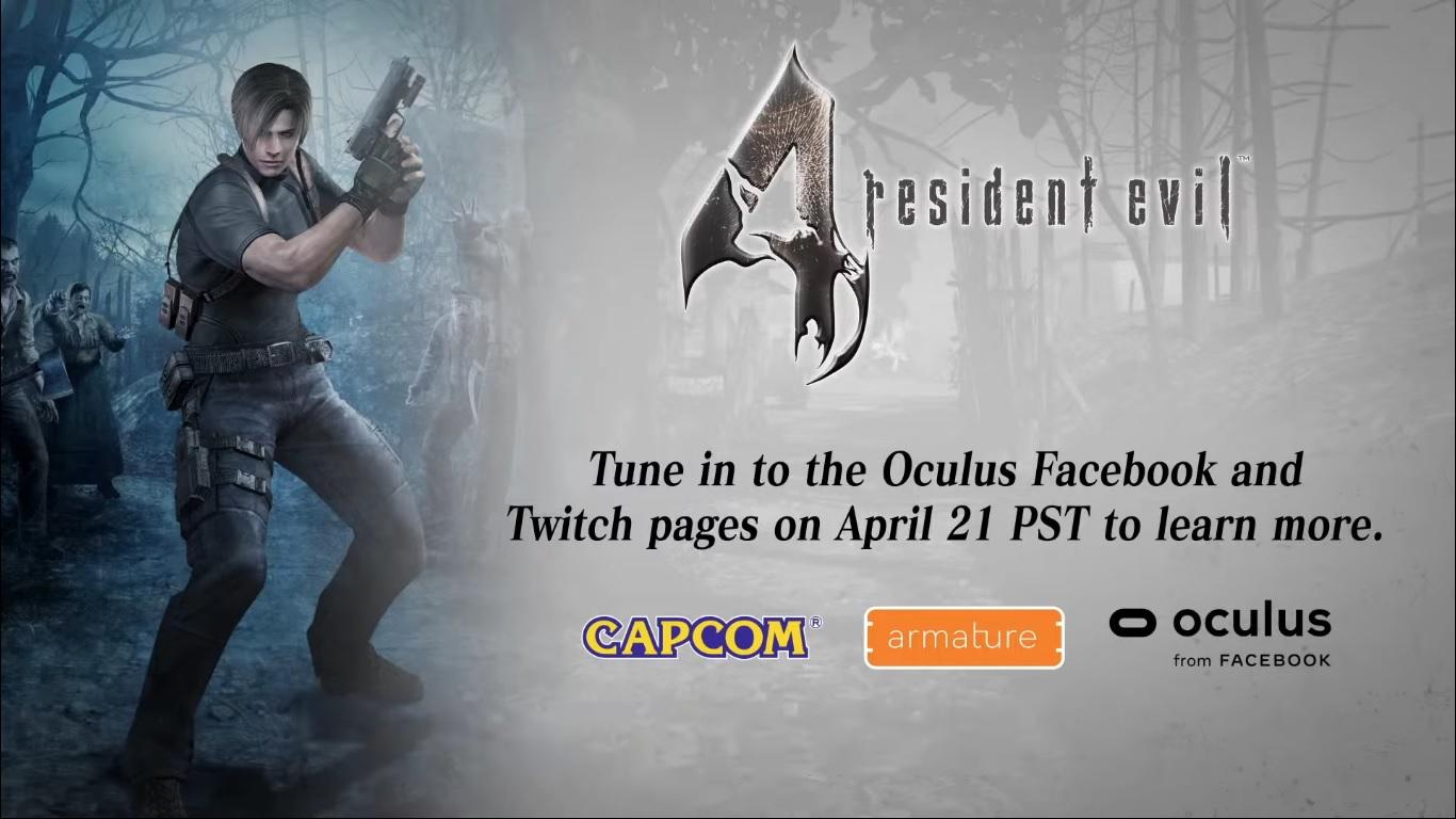 Resident Evil 4 VR title