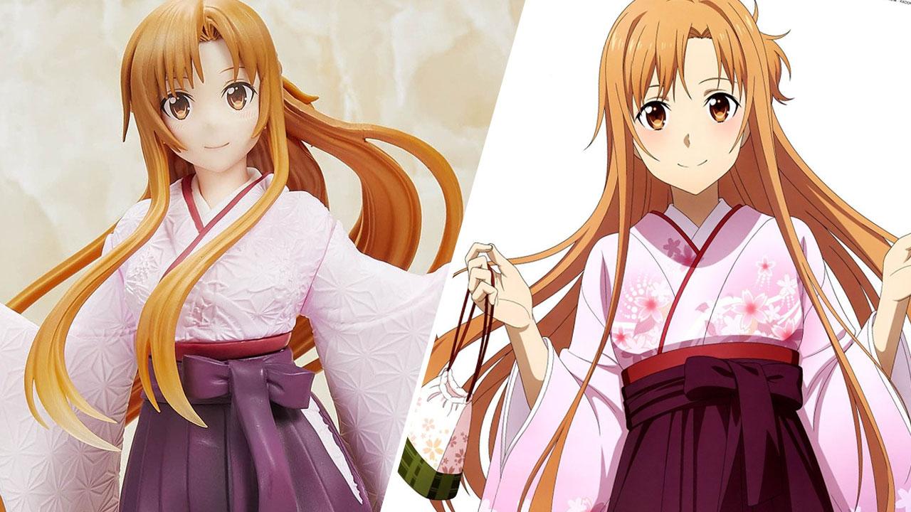 Sword Art Online Asuna Yuuki Figura min
