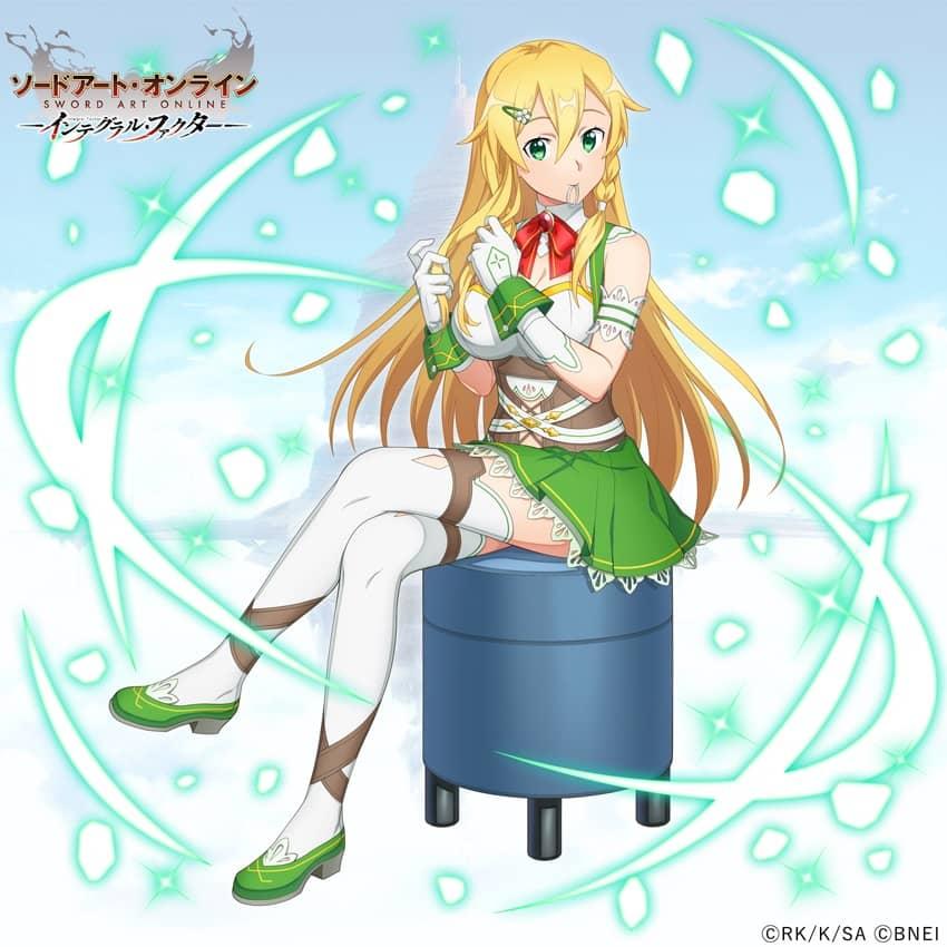 Sword Art Online celebra el cumpleaños de Leafa