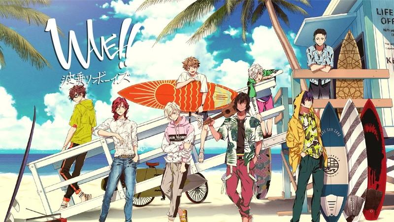 WAVE!! ~Naminori Boys~ portada