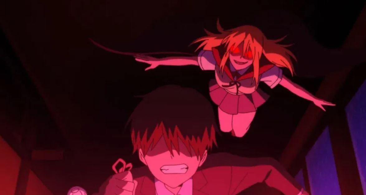El anime Ijiranaide, Nagatoro-San modificó esta escena donde aparece un hentai de vampiros