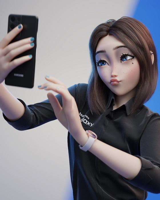 Sam - La hermosa waifu de Samsung que conquistó a otakus que ya quieren  profanar