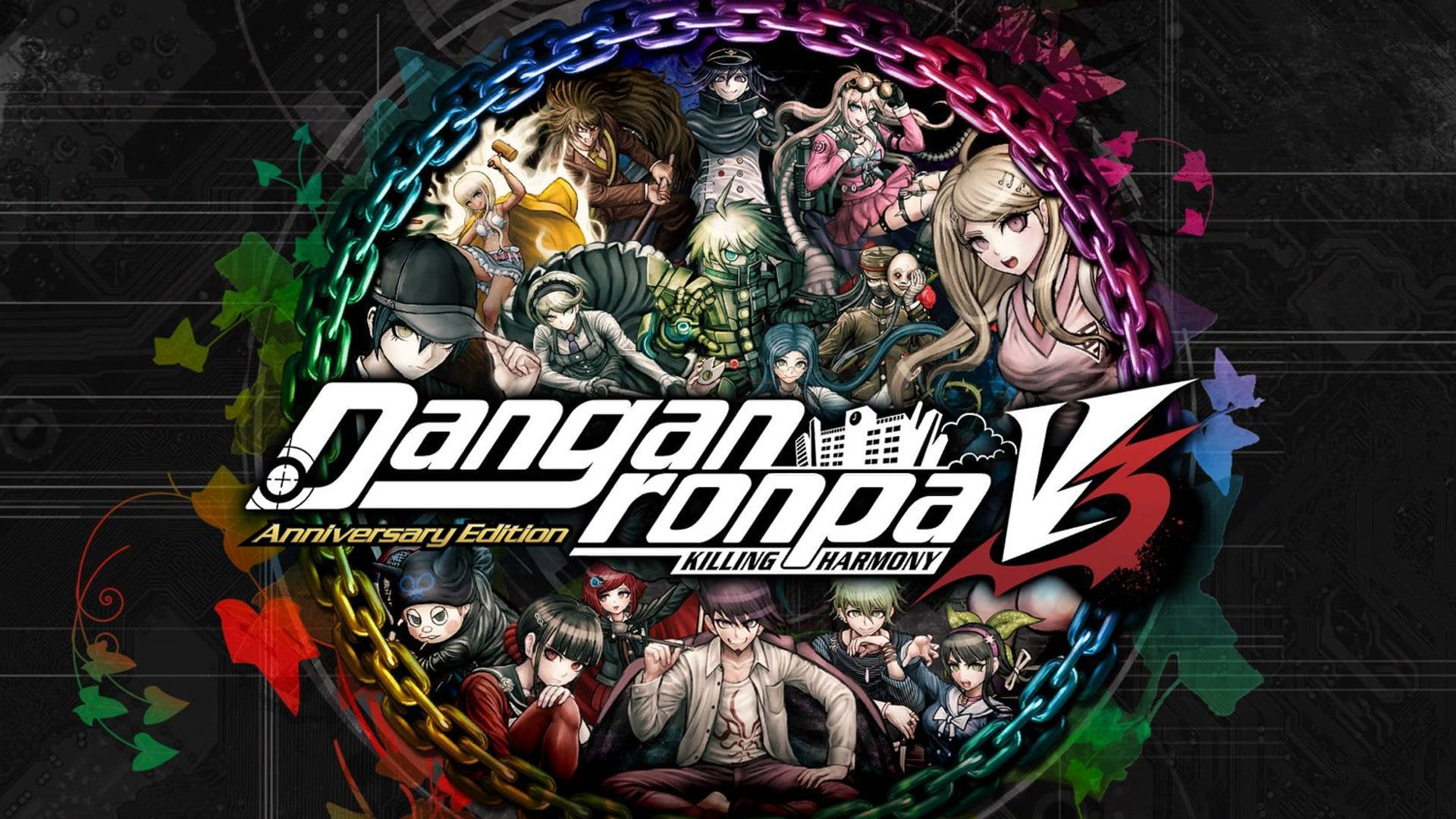Danganronpa V3: Killing Harmony - Cover